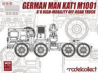 German MAN KAT1M 1001 8x8