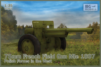 75mm French Field Gun MIe 1897, Polisch Forces in the West