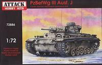 PzBefWg III Ausf.J commandd tank