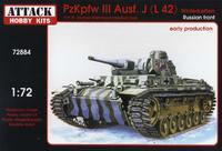 PzJpfw III Ausf.J (L 42) Russian Front early production with Winterketten
