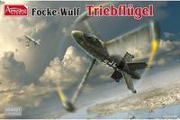 Focke -Wulf Triebflugel WWII German VTOL Fighter