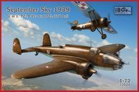 September Sky 1939 - 2 in 1 - PZL P.11a and PZL 37B Łoś