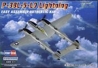 P-38L-5-LO Lightning Easy Assembly Kit