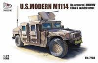 US.Modern M1114 Up-armored HMMWV  FRAG 5 w/GPK Turret