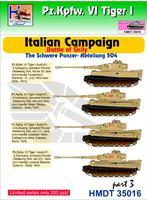 Pz.Kpfw. VI Tiger I - Italian Campaign - Battle of Sicily - schwere abt. 504 part 3