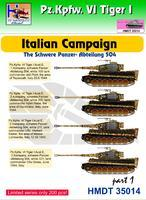 Pz.Kpfw. VI Tiger I - Italian Campaign - The schwere panzer - abteilung 504 part 1