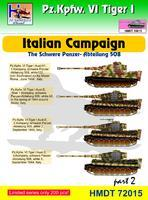 Pz. Kpfw. VI Tiger I - Italian Campaing - The Schwere Panzer - Abteilung 508 part 2