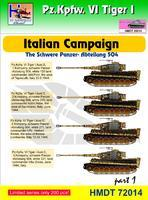 Pz. Kpfw. VI Tiger I - Italian Campaign - The Schwere Panzer-Abteilung 504 part 1