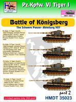 Pz.Kpfw. VI Tiger I - Battle of Kongisberg - The Schwere panzer-abteilung 507 part 2