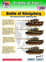 Pz.Kpfw. VI Tiger I - Battle of Konigsberg - The schwere panzer-abteilung 507 part 1