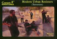 Modern Urban Resisters (Terrorist), 42 fig.