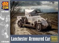 Lanchester Armoured Car 1914