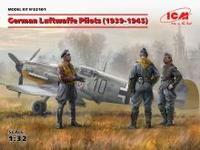 German Luftwaffe Pilots 1939-45 3 fig