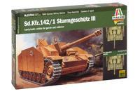 Sd.Kfz.142/1 Sturmgeschutz III, Warlord games, 1:56