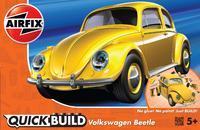 Quickbuild Volkswagen Beetle - žlutá