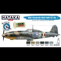 WW2 Italian Air Force Paint Set Vol. 1, sada barev