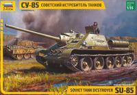 SU-85 Soviet Tank Destroyer