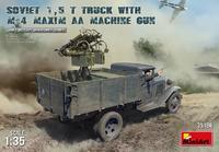 Soviet 1,5t Truck w/ M-4 Maxim AA