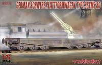 Germany Schwerer Plastformwagen Type SSYMS 80