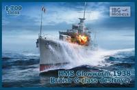 HMS Glowworm 1938 British G-class destroyer  - přijímáme předobjednávky - pre/orders