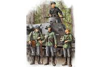 German Infantry  Set Vol. 1 (Early) 4 fig.