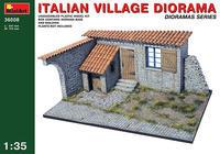 Italian Village Diorama