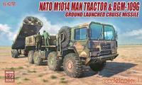 NATO USA Army M1014 Tractor & BGM-109G