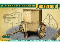 Panzernest German WWII mobile MG bunker