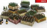 Beer Bottles & Wooden Crates 1:35