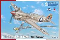 "P-40K-1/5 Warhavk ""Short Fuselage"""