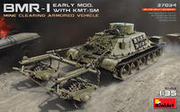 BMR-I Early Mod. With KMT-5M Mine Clearing Armored Wehicle