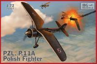 PZL P.11a - Polish Fighter Plane