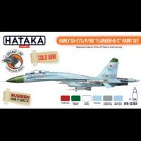 "Early SU-27S/P/UB ""Flanker-B/C"" Paint Set, sada barev"