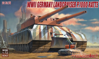 WII German Landcruiser P.1000 Ratte