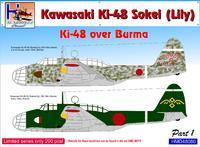 Kawasaki Ki-48 over Burma
