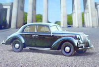 Admiral Saloon WWII German Staff Car