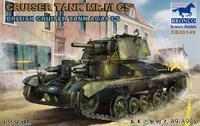 British Cruiser Tank  Mk.I/I CS  A9/A9CS