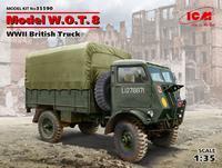 WWII British Truck Model W.O.T. 8