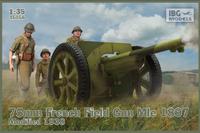 75mm French Field Gun MIe 1897, Modified 1938