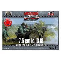 7,5cm le.IG 18 Niemieckie Dzialo Piechoty