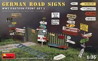 German Road Signs WW2 Eastern Front Set 1