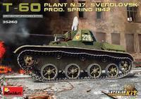 T-60 Plant N.37 Sverdlovsk Prod. Spring 1942