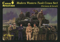 Modern Western Tank Crews Set1 (Germany &Israel) 30+ Figures