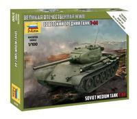 Soviet medium tank T-44 1:100