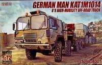 German MAN Kat 1 M1014 8x8 High-mobility Off-road Truck