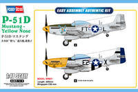 P-51D  Mustang Yellow Nose