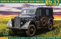 Uniform chassis medium radio vehicle KFZ 17