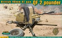 British 40mm AT gun QF 2 pounder