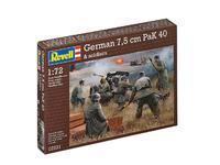 German 7,5cm paK 40 & Soldiers