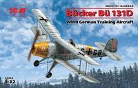 Bücker Bü 131D German WWII Training